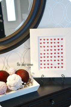 DIY Easy Valentine Art