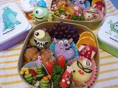 Monsters, Inc. Bento