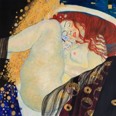 Danae (after G. Klimt)