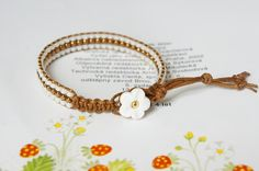 beads wrap bracelet