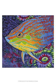 Brilliant+Tropical+Fish+I