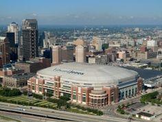 Edward Jones Dome, Saint Louis - St. Louis Rams - Capacity: 66 965 - #Stadium #Arena