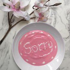 #sorry Oops.  When you get something wrong just say sorry.  #fms_oops  #nothingisordinary  #snaphappybritmums #abmlifeiscolorful #abmhappylife  #abmlifeissweet  #wordswithfood  #creativityinmybreakfast #breakfast  #hiyapapayaphotoaday #lovelysquares #todaysgoodthing #postitfortheasthetic #colourpop #breakfastofchampions #breakfastclub