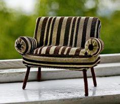 Делаем кресло для куколки в винтажном стиле - Ярмарка Мастеров - ручная работа, handmade