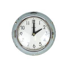 Vintage Merchant Ship Clock - Painted Ships Clock, Clock Painting, Battery Operated, Vintage Items, Blog, Decor, Decoration, Blogging, Decorating
