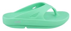 """◦Women's Oofos, OOriginal Flip Flop Thong Sandals - SEAFOAM.  ◦OOfoam upper  ◦OOfoam footbed with arch support & all day comfort  ◦OOfoam textured outsole  ◦Water Resistance Level: Not Water Resistant ◦Heel Height: 1.25"""" ◦Upper Material: Synthetic $44.95"""
