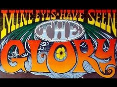 From The ipi House Poster Gallery comes Sir Rick Griffin's memorable piece from 1967. MINE EYES HAVE SEEN THE GLORY  Berkeley Bonaparte ipi RICK GRIFFIN Mine Eyes Have Seen The Glory 1967