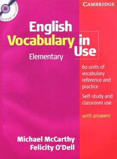 Cambridge English Vocabulary in Use: Elementary Edtion