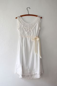 Cotton and Crochet Dress