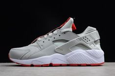 "Shoe Palace x Nike Air Huarache Run Zip QS Anniversary"" Metallic  Silver White-University Red be3be0f09"