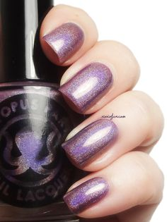 Octopus Party Nail Lacquer: Teenage Bedroom