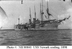 USS Newark CC-1 The first modern cruiser in the US fleet.