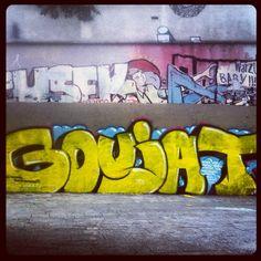 Goujat #streetartparis quai de Jemmapes