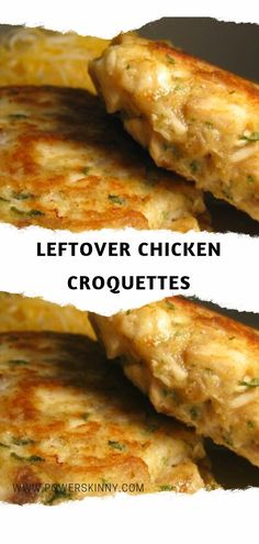 Leftover Chicken Croquettes – Page 2 – One Of Recipe - Recipe - Chicken Recipes Cooked Chicken Recipes Leftovers, Leftover Rotisserie Chicken, Roast Chicken Recipes, Leftovers Recipes, Healthy Chicken Recipes, Cooking Recipes, Recipe Chicken, Bbq Chicken, Shredded Chicken