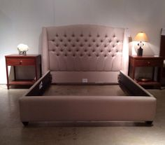 Helaine Queen Bed: Gavin Ecru $1,537. Mitchell GoldQueen ...