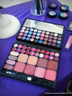 Make Up Application | by Courtney Price: Glamour Avenue Parties