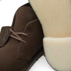 Clarks desert boots.