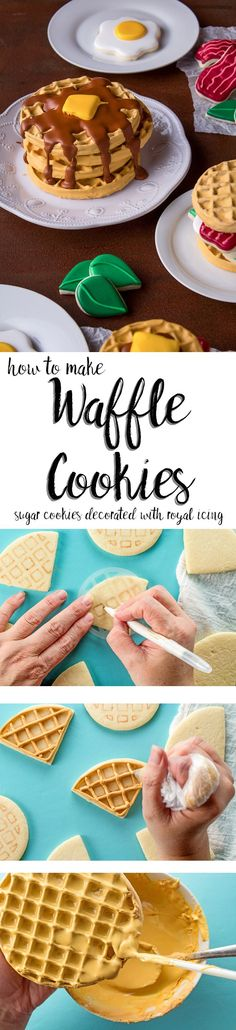 How to Make Wonderful Waffle Cookies with a How to Video | The Bearfoot Baker