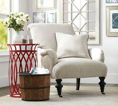 Bristol Upholstered Armchair | Pottery Barn