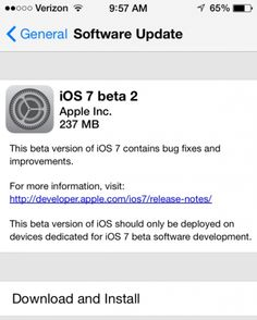 Apple on Monday released the third beta build of iOS 7 for iPhone, iPad and iPod touch to its development community for testing, addressing pre-release bugs related to a range of issues, including Messages, iCloud and AirPlay. Ios Apple, Apple Iphone, New Ios, Ios 8, Apple Inc, Iphone 5c, Ipod Touch, Ipad Mini, Ios News