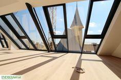 Traumhaft hell, beispielsweise als Atelier - Großzügige Eigentumswohnung in der Hofstattgasse in Wien Modern, Atelier, Condominium, Room Interior Design, Trendy Tree