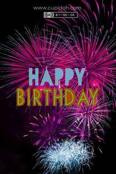 Happy Birthday Fireworks, Happy Birthday Flowers Wishes, Animated Happy Birthday Wishes, Happy Birthday Greetings Friends, Happy Birthday Frame, Happy Birthday Video, Happy Birthday Photos, Birthday Wishes Messages, Happy Birthday Celebration