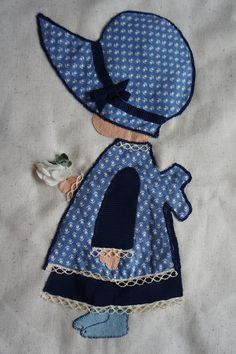 Wandkleed Holly Hobbie details