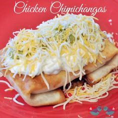 Pan Fried Chicken Chimichangas - Chimichangas are essentially burritos that are lightly fried. They have a perfectly crispy outside with warm, delicious filling. From The Love Nerds {http://blog.thelovenerds.com}