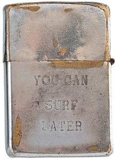 Soldier's lighter from the Vietnam war