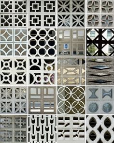 Perforated concrete block by jezzie