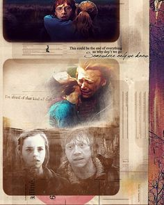I love that song for Ron and Hermione <3