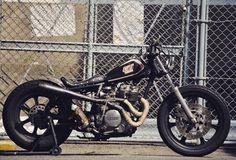Yamaha by @Anbucustommotors