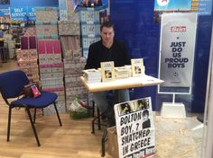 My book launch for the love of Christopher at the Trafford centre