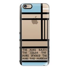 iPhone 6 Plus/6/5/5s/5c Case - More Pure ($40) ❤ liked on Polyvore featuring accessories, tech accessories, iphone case, apple iphone cases and iphone cover case