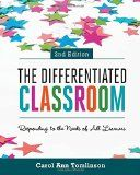The author explains the theoretical basis of differentiated instruction, explores the variables of curriculum and learning environment, shares dozens of instructional strategies, and goes inside elementary and secondary classrooms in nearly all subject areas to illustrate how real teachers are applying differentiation principles and practices to respond to the needs of all learners