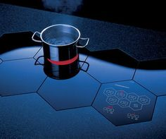 Electric Cooktops by Kuppersbusch - built-in honeycomb cooktop