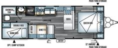 Salem Cruise Lite Travel Trailers by Forest River RV