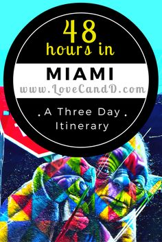 Here is a fantastic itinerary for spending a weekend in Miami, FL.