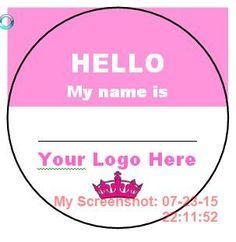 Name Badge ID Badge Name Tag Personalized by CraftingMemoriesOhio