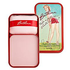 Benefit Cosmetics - Bathina 'Take a Picture it Lasts Longer...' this stuff smells so good and leaves a subtle gleam on my skin.