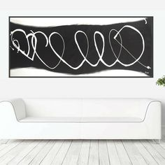 Excited to share the latest addition to my #etsy shop: black and white painting minimal abstract art texture modern painting monochrome artwork minimalist contemporary wall art horizontal canvas https://etsy.me/2GRj7Xb #art #painting #black #retirement #fathersday #whi