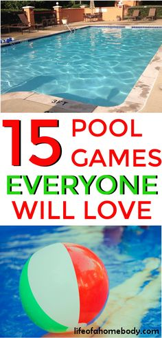 15 Fun Pool Games for Kids Everyone Will Love This is a great list of fun pool games for kids and adults. This is must pin for pool parties and swimming fun! The post 15 Fun Pool Games for Kids Everyone Will Love appeared first on Summer Diy. Pool Party Activities, Swimming Pool Games, Pool Party Games, Pool Party Kids, Adult Party Games, Adult Games, Fun Games, Kiddie Pool Games, Pool Fun