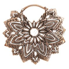 Maya Jewelry 2nd Chakra in Copper. #earrings #girlswithstretchedears #accessories  www.mayajewelry.com