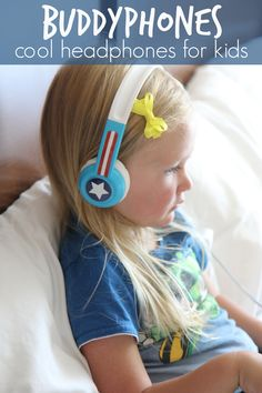 Toddler Approved!: BuddyPhones: Cool Headphones for Kids {+ Giveaway}