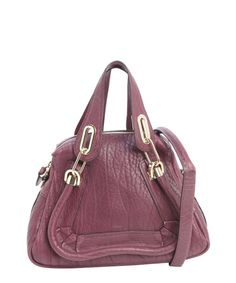3a54171b3d7 Chloe plum leather 'Paraty' small convertible top handle bag Chloe Bag,  Paraty,