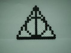 Deathly Hallows- Hama beads by SteelEnterprise