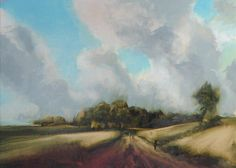 Learn tips for painting skies in oil with David Dunlop in the manner of master painter, van Ruisdael <<--http://bit.ly/1NUHv5f
