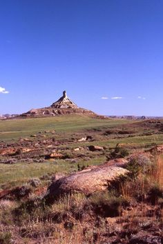 The Terry Badlands includes 44,000 acres of sedimentary rock. Photo by Ed Wolff