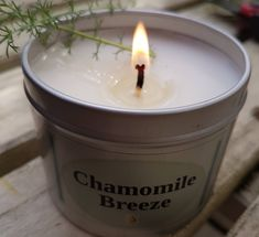 Chamomile Breeze soy wax candle with a beautiful spring aroma. #floralcandle #naturalwaxcandle #aromatherapywaxcandle #vegangift #spacandle #greatgiftidea #hostessgift #Springcandle #candlecollection #aromaticcandle #soycandle #chamomilecandle #chamomilebreeze #pulsepointoils #birthdaycandle #shopsmall #shoplocal #bestcandles #cleanburncandles #handpouredcandle #whichcandle #shopindependent #mumboss #mumgifts #teachergifts #christmasgifts