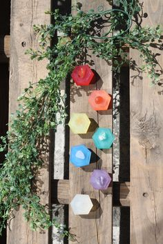 mini handmade chakra soaps with chakra stones embedded   #chakra #chakrasymbols #chakrameaning #healingcrystals #crystals #washwithenergy #chakraart